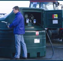 Dieseltanks - Bovengronds dubbelwandig PE (polyethyleen)