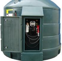 Dieseltanks -  dubbelwandig PE (polyethyleen)