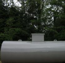 Ondergrondse Dubbelwandige Stalen Dieseltank